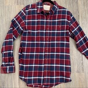 WeatherProof Blue and Red Flannel